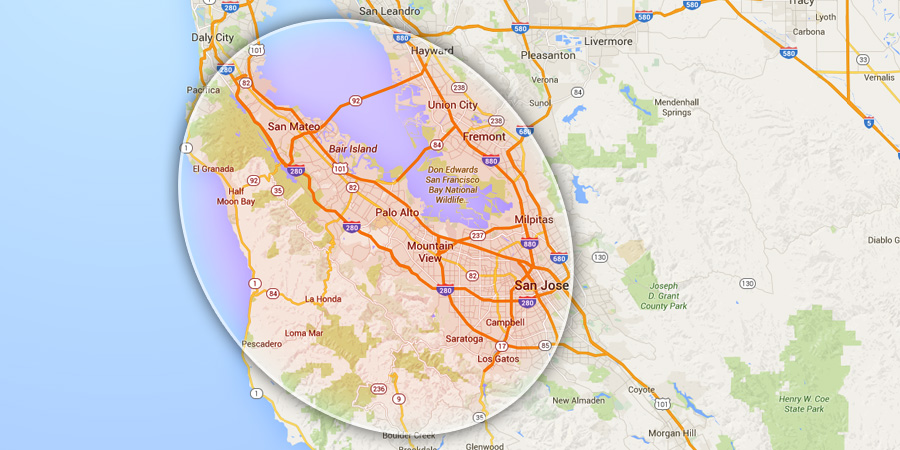 Contact Neck of the Woods Tree Service - Emerald Hills, Redwood City CA - (650) 366-9801 - map2